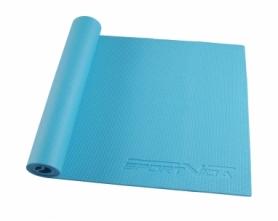 Коврик для йоги (йога-мат) SportVida PVC 6 мм SV-HK0053 Sky Blue