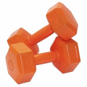 Гантели для фитнеса пластиковые 2 шт. по 2 кг SportVida SV-HK0219