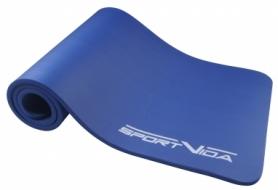 Коврик для йоги и фитнеса SportVida NBR 1,5 см SV-HK0075 Blue
