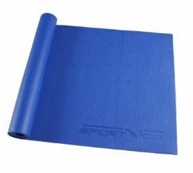 Коврик для йоги (йога-мат) SportVida PVC 4 мм SV-HK0051 Blue