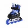 Коньки роликовые раздвижные Nils Extreme Black/Blue (NA0328A) - Фото №4