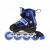 Коньки роликовые раздвижные Nils Extreme Black/Blue (NA0328A) - Фото №5