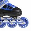Коньки роликовые раздвижные Nils Extreme Black/Blue (NA0328A) - Фото №7