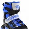 Коньки роликовые раздвижные Nils Extreme Black/Blue (NA0328A) - Фото №8