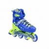 Коньки роликовые раздвижные Nils Extreme Blue (NA1005A) - Фото №2