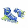 Коньки роликовые раздвижные Nils Extreme Blue (NA1005A) - Фото №5