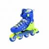 Коньки роликовые раздвижные Nils Extreme Blue (NA1005A) - Фото №7