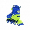Коньки роликовые раздвижные Nils Extreme Blue (NA1005A) - Фото №8