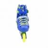 Коньки роликовые раздвижные Nils Extreme Blue (NA1005A) - Фото №9