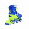 Коньки роликовые раздвижные Nils Extreme Blue (NA1005A) - Фото №10