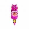 Коньки роликовые раздвижные Nils Extreme Pink (NA1005A) - Фото №4