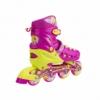 Коньки роликовые раздвижные Nils Extreme Pink (NA1005A) - Фото №5