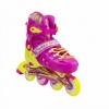 Коньки роликовые раздвижные Nils Extreme Pink (NA1005A) - Фото №8