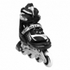 Коньки роликовые раздвижные Nils Extreme Black (NA1123A) - Фото №2
