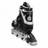 Коньки роликовые раздвижные Nils Extreme Black (NA1123A) - Фото №6
