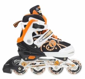 Коньки роликовые раздвижные Nils Extreme Orange (NA1152A)