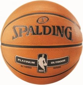 Мяч баскетбольный Spalding NBA Platinum Outdoor №7