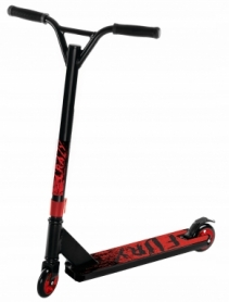 Самокат SportVida Fury RS9 Black/Red (SV-WO0005)