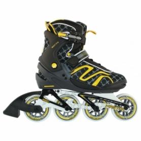 Коньки роликовые Nils Extreme Black/Yellow (NA1221S)