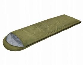 Мешок спальный (спальник) SportVida Green/Grey (SV-CC0012)