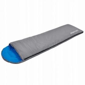 Мешок спальный (спальник) SportVida Grey/Blue (SV-CC0014)
