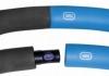 Обруч массажный Hula Hoop SportVida 100 см 1.2 кг SV-HK0157 Grey/Blue - Фото №3