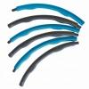 Обруч массажный Hula Hoop SportVida 100 см 1.2 кг SV-HK0157 Grey/Blue - Фото №4