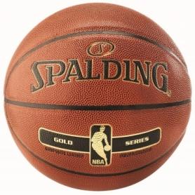 Мяч баскетбольный Spalding NBA Gold IN/OUT №7