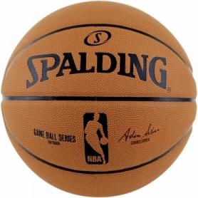 Мяч баскетбольный Spalding NBA Game Ball Replica №7