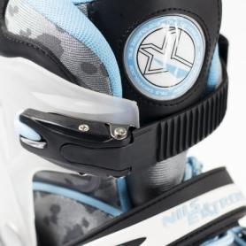 Коньки роликовые раздвижные Nils Extreme Light Blue (NA1118A) - Фото №3