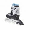 Коньки роликовые раздвижные Nils Extreme Light Blue (NA1118A) - Фото №4