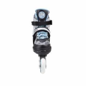 Коньки роликовые раздвижные Nils Extreme Light Blue (NA1118A) - Фото №5