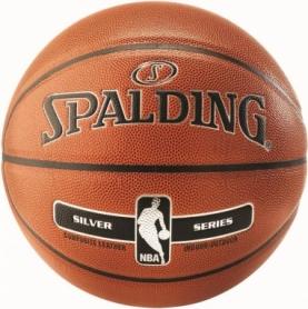 Мяч баскетбольный Spalding NBA Silver IN/OUT №7