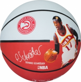 Мяч баскетбольный Spalding NBA Player Dennis Schroeder №7