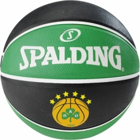 Мяч баскетбольный Spalding EL Team Panathinaikos №7