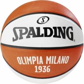Мяч баскетбольный Spalding EL Team Olimpia Milano №7