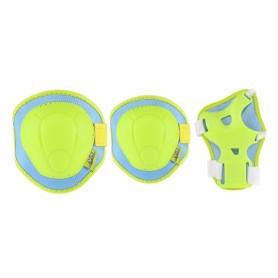 Защита для катания (комплект) Nils Extreme H106 Green/Blue (H106-GRBL)