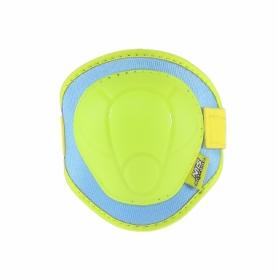 Защита для катания (комплект) Nils Extreme H106 Green/Blue (H106-GRBL) - Фото №3