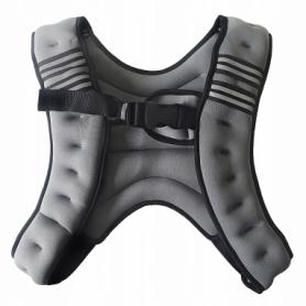 Жилет-утяжелитель Sport Shiny 10 кг SS6057-10-GR Grey