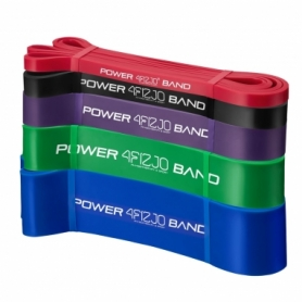 Набор эспандеров-петель (резинок для фитнеса) 4FIZJO Power Band 5 шт 6-46 кг 4FJ0001