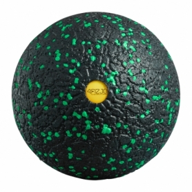 Мяч массажный 4FIZJO EPP Ball 12 см 4FJ1264 Black/Green