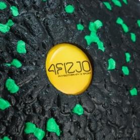 Мяч массажный 4FIZJO EPP Ball 12 см 4FJ1264 Black/Green - Фото №2