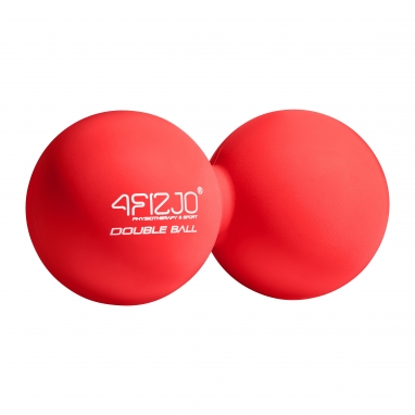 Мяч массажный двойной 4FIZJO Lacrosse Double Ball 6,5x13,5 см 4FJ1219 Red