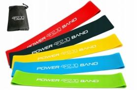 Набор резинок для фитнеса 4FIZJO Mini Power Band 5 шт 4FJ1110