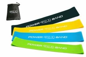 Набор резинок для фитнеса 4FIZJO Mini Power Band 4 шт 4FJ1042