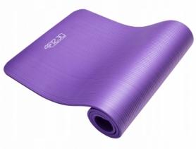 Коврик для йоги и фитнеса 4FIZJO NBR 1 см 4FJ0016 Violet