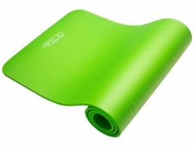 Коврик для йоги и фитнеса 4FIZJO NBR 1 см 4FJ0017 Green