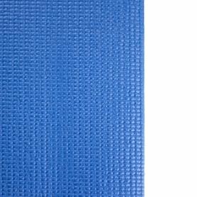 Коврик для йоги (йога-мат) HMS YM01 PVC 3 мм Blue - Фото №6