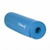Коврик для йоги и фитнеса HMS YM03 NBR 1 cм Blue - Фото №7