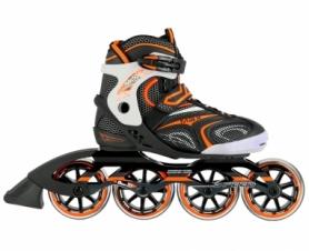 Коньки роликовые Nils Extreme Black/Orange (NA1060S)